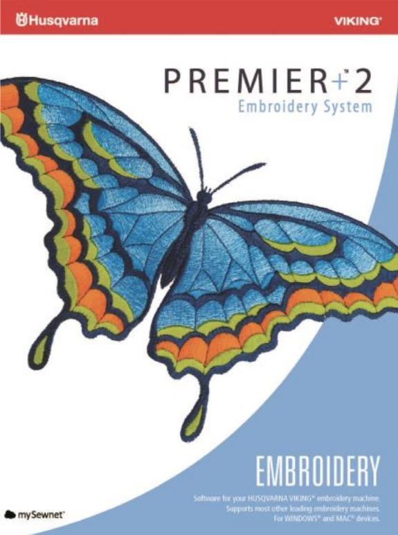 Premier +2 Embroidery Sticksoftware