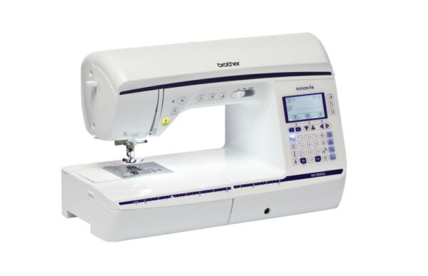 Brother Innov-is NV1800Q Naehmaschine seitlich