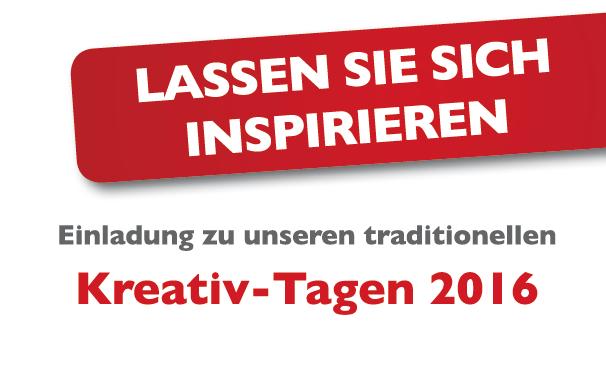 Kreativtage 2016 Bernina
