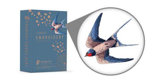 Premier+ Embroidery Sticksoftware für Pfaff und Husqvarna