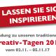 Kreativtage 2017 bei Nähmaschinen-Scherf