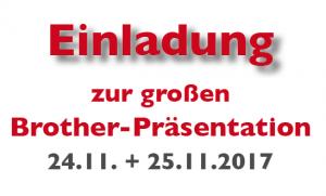 Brotherpräsentation 2017