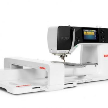Bernina B 590 mit Stickmodul