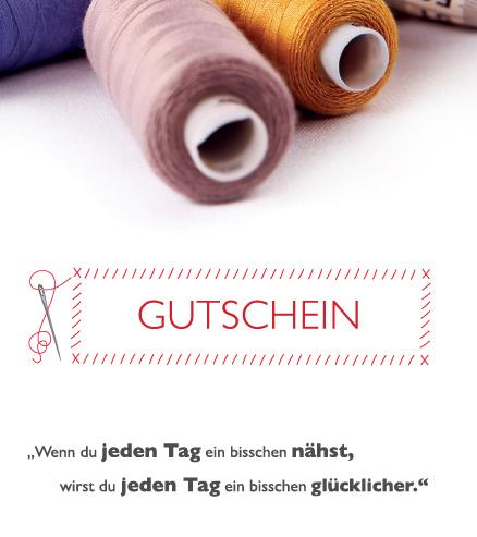 Gutschein Nähmaschinen Scherf Hannover - Altwarmbüchen