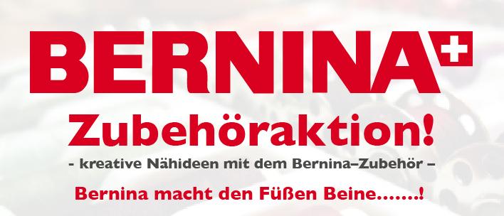 Bernina Zubehöraktion für Nähfuße und Sonderzubehör