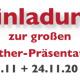 Einladung zur Brother Näh- und Stickmaschinen Präsentation