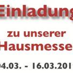 Hausmesse 2019 Nähmaschinen Scherf