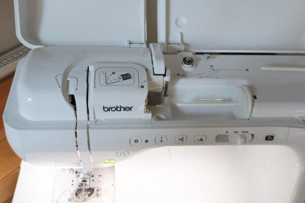 Brother Innov-is VQ2 gebrauchte Naehmaschine oben