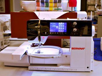 gebrauchte Bernina B 580 mit Stickmodul
