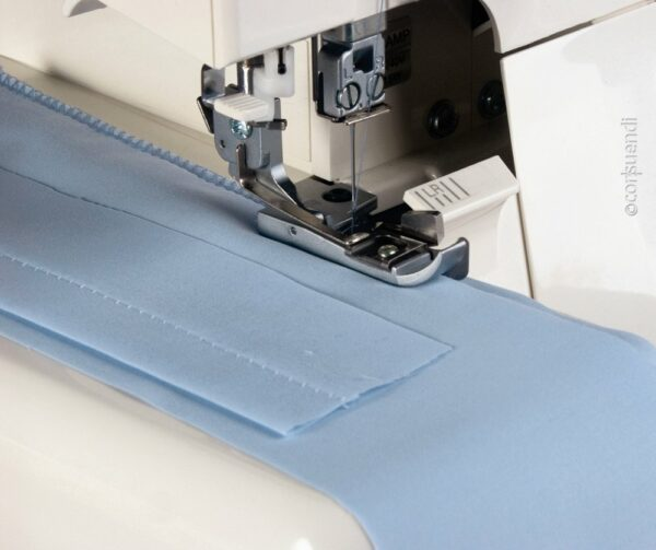 Blindsaumfuss Overlock