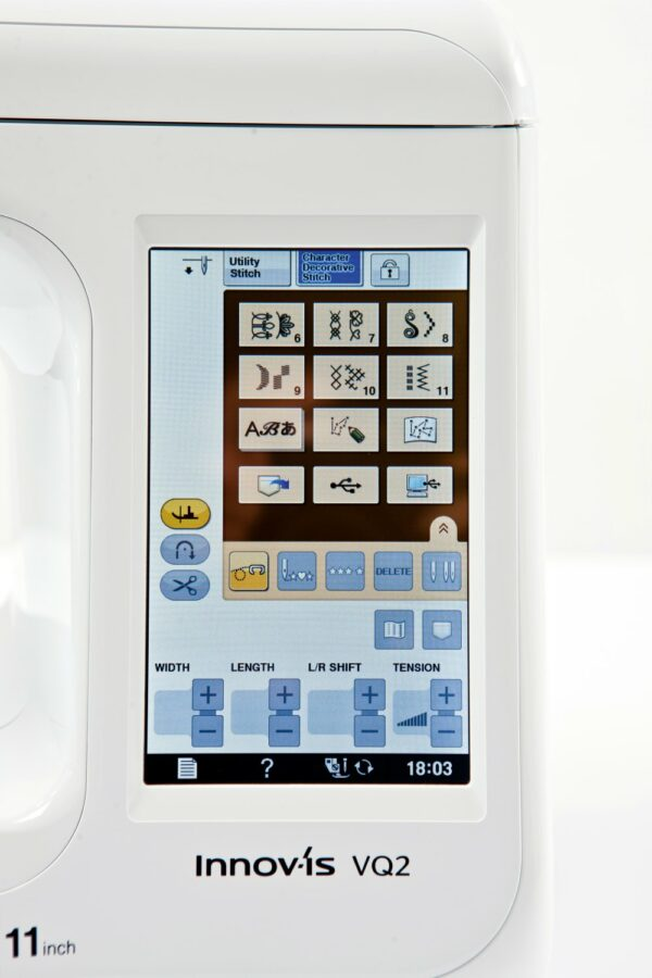 Brother VQ2 Touchscreen