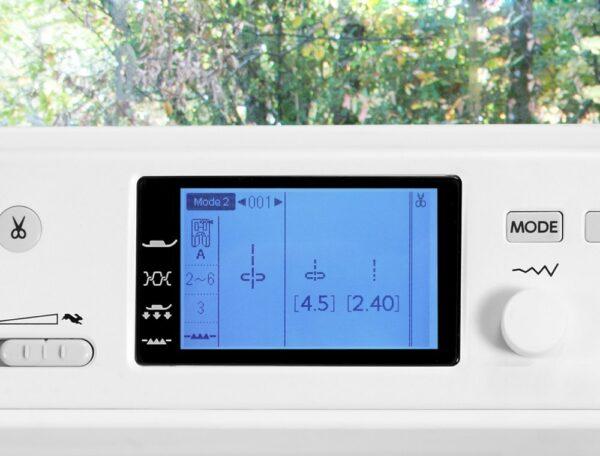Elna 720Pro LCD Display