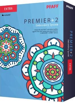 Pfaff Premier +2 Extra Sticksoftware