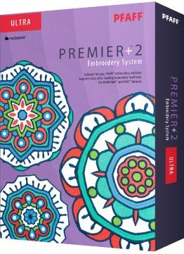 Pfaff Premier +2 Ultra Sticksoftware