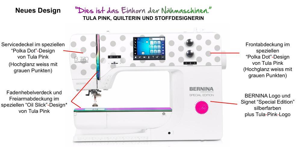 Tula Pink Sondermodell Bernina 770