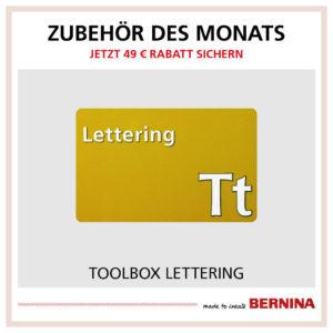 Zubehör des Monats Dezember 2019 Bernina