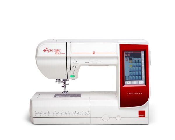 Elna 850 Naeh- und Stickmaschine