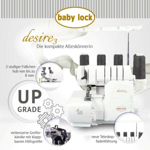 Babylock Desire upgrade