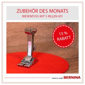 Bernina Angebot des Monats Januar 2021