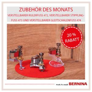 Bernina Zubehör des Monats April 2021