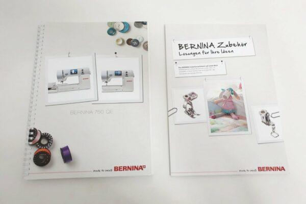 Bernina 790 gebraucht mit Handbuechern