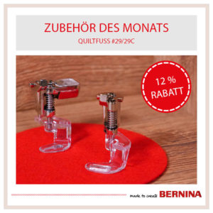 Bernina Zubehoer des Monats Juni 2021