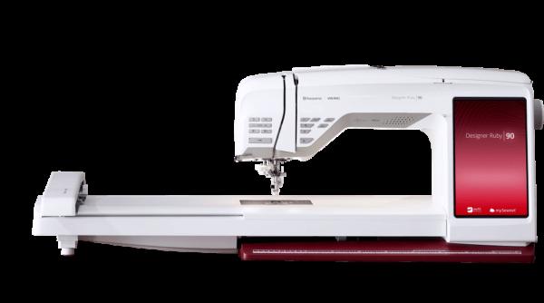 Husqvarna Viking Ruby_90 Stickmaschine mit Stickmodul