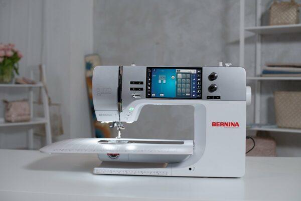Bernina b770 QE PLUS Nähmaschine Licht